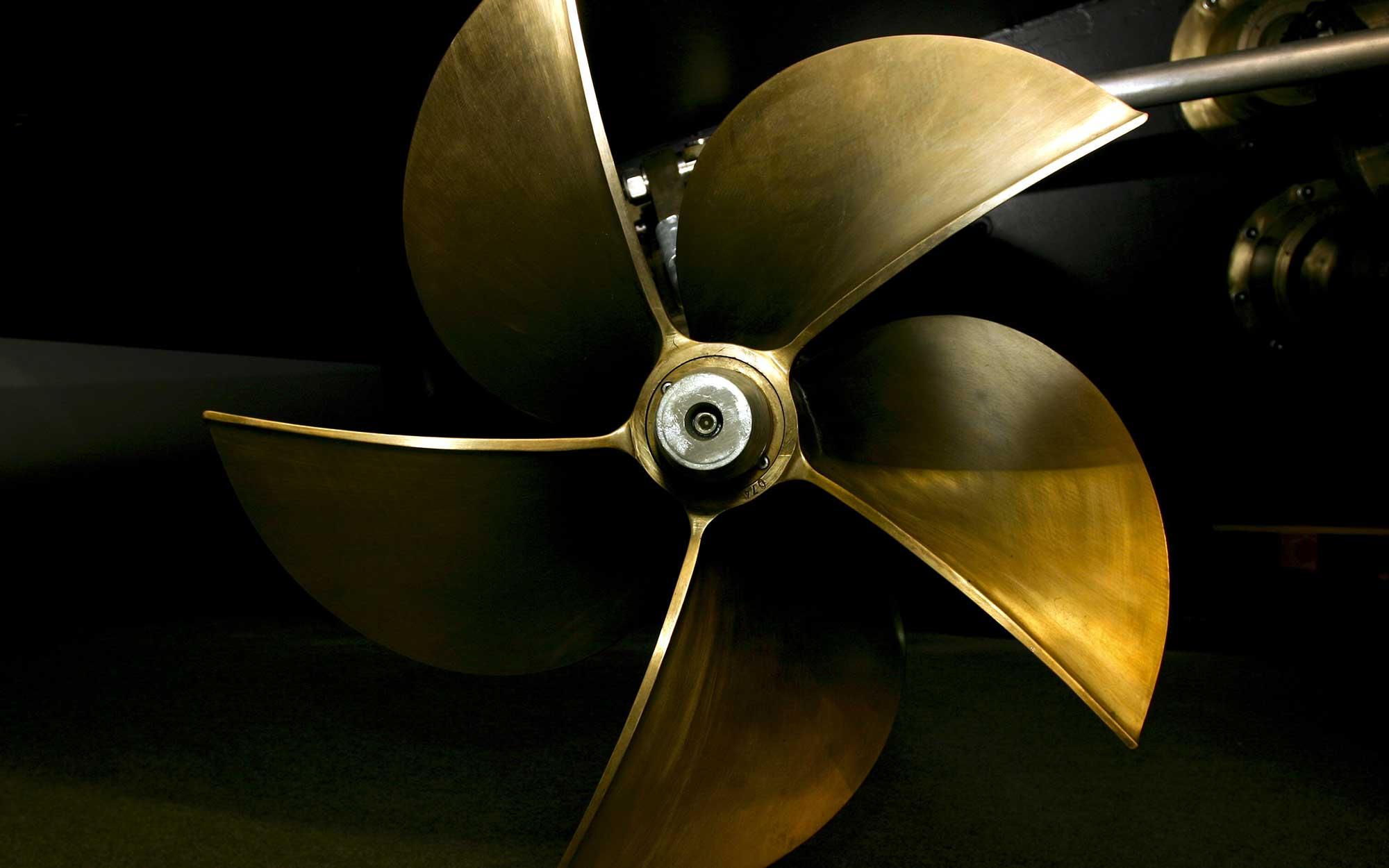 Nickel Aluminium Bronze Propeller
