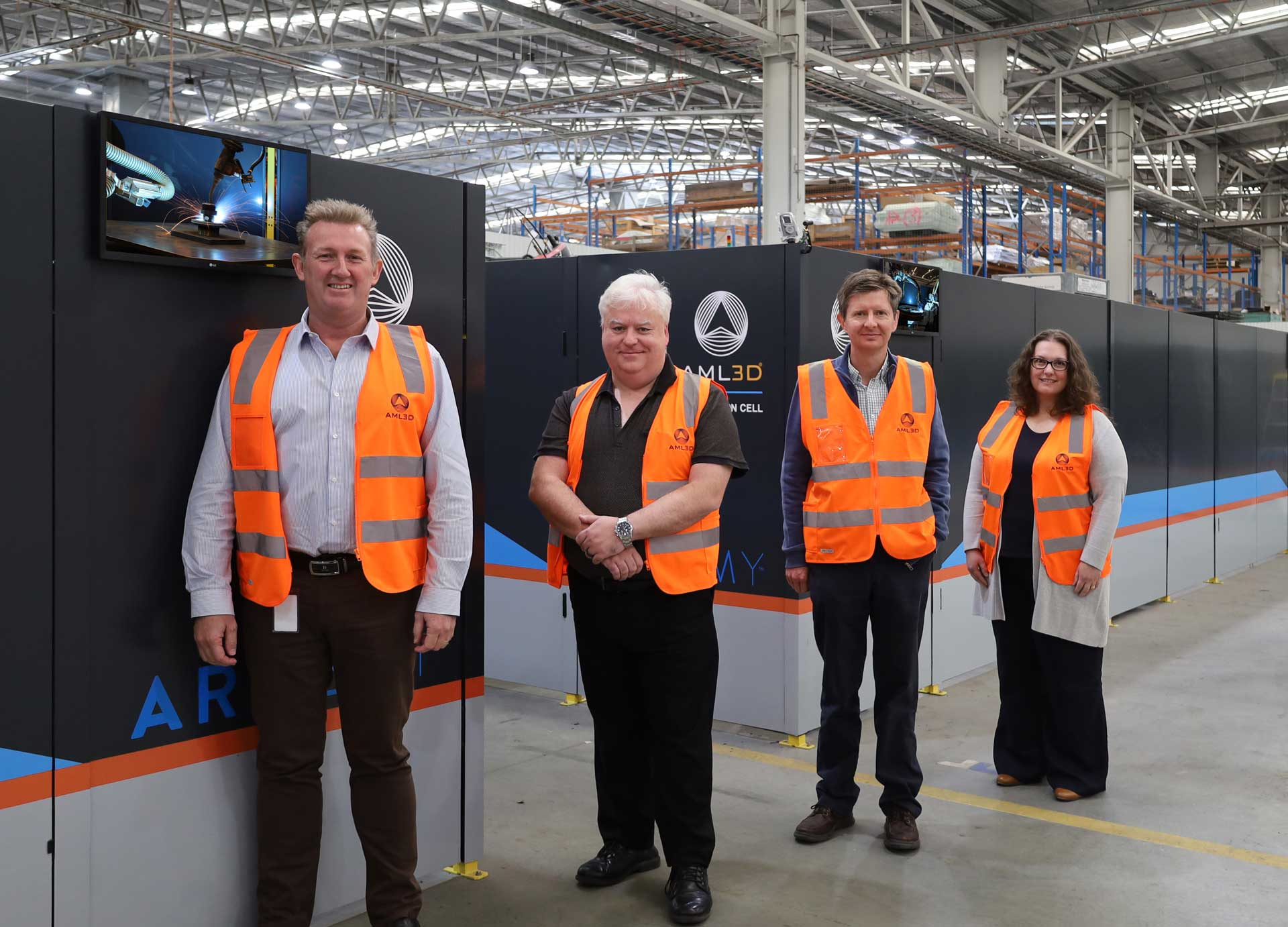 Flinders University visits AML3D Adelaide Facility