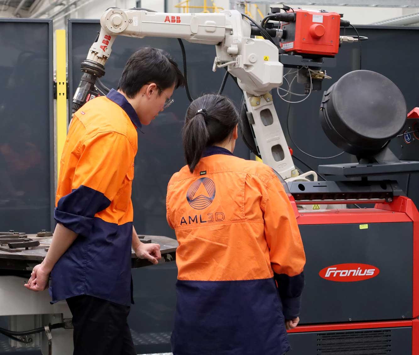 AML3D WAM® Technicians