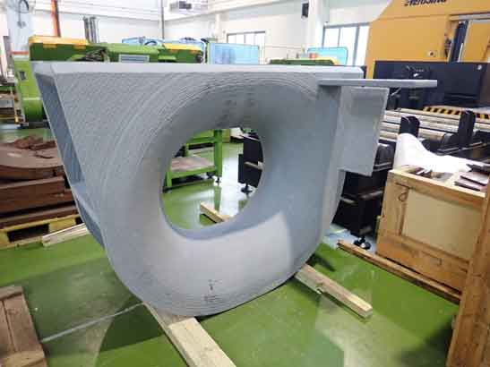 Wire Additive Manufactured Keppel Panama Chock